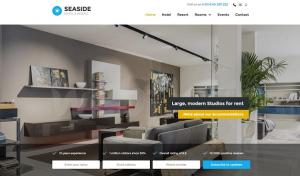 mẫu thiết kế website phẳng