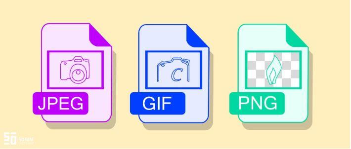 Sự khác nhau giữa các định dạng ảnh JPEG, PNG và GIF,
