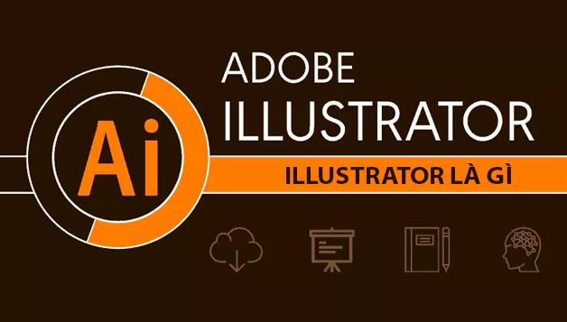 Adobe Illustrator là một phần mềm thiết kế đồ hoạ chuyên vẽ.