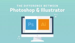 AI và photoshop - ứng dụng thiết kế đồ họa nào tốt hơn