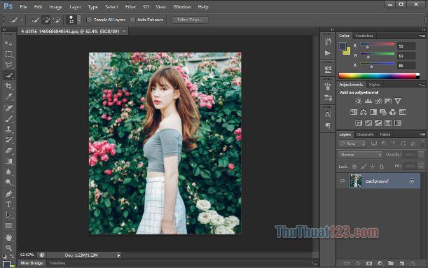 Photoshop có nhiều ứng dụng trong thiết kế đồ họa