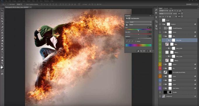 Photoshop giúp ngườithiết kế có thể khắc phục được hầu hết những lỗi trên hình ảnh