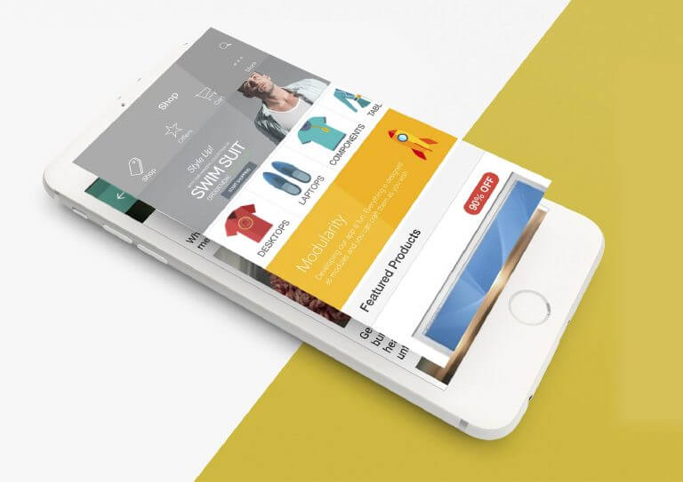 Thiết kế giao diện app mobile fair mobile kit