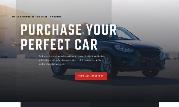 Cấu trúc cần có của website bán ô tô - bán xe hơi