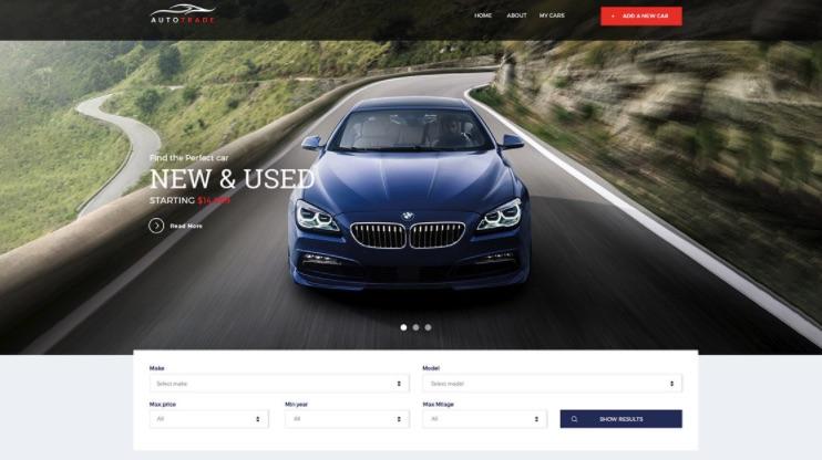Thiết kế website ô tô - xe hơi cần chuẩn seo, chuẩn di động