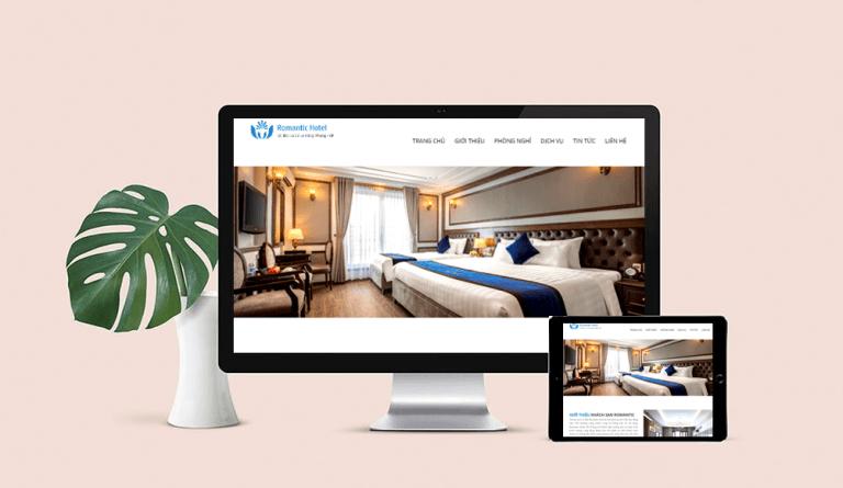Thiết kế website chuẩn SEO cho website khách sạn