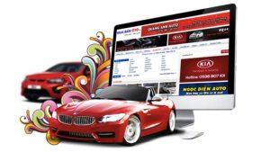 Tiêu chí cần có khi thiết kế website bán ô tô - xe hơi