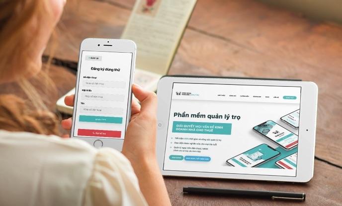 App phần mềm mona house -quản lý nhà cho thuê của Host Airbnb