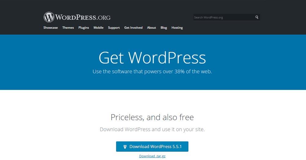Tải wordpress phiên bản mới nhất