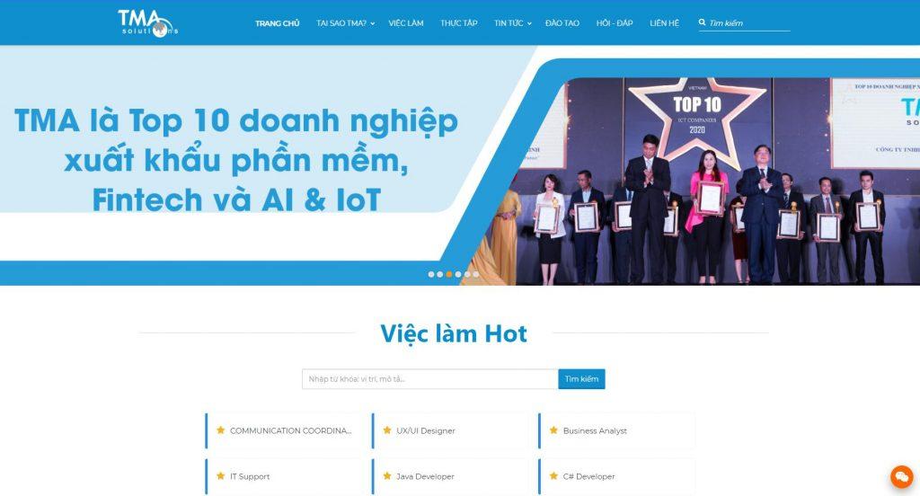 Công ty lập trình phần mềm TMA Solutions