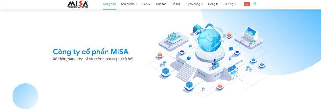 Công ty thiết kế phần mềm MISA