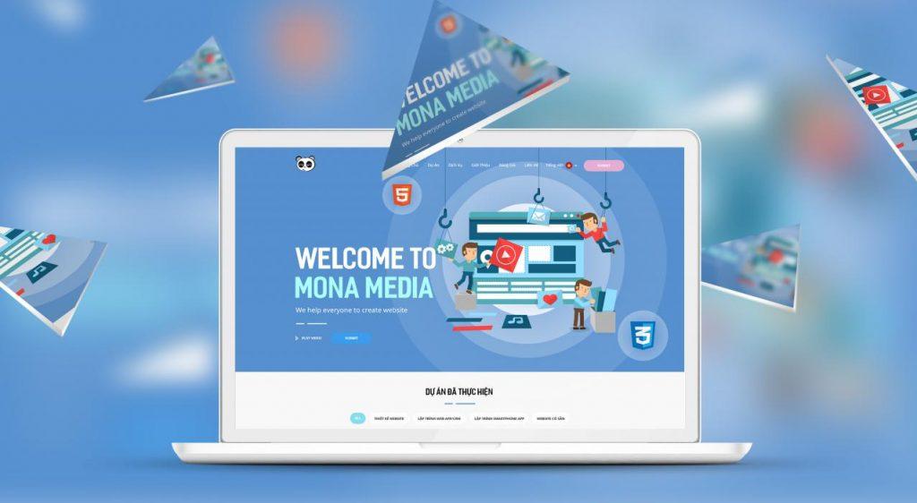 Công ty thiết kế phần mềm Mona Media